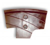 Смесительные инструменты для смесителей бетона из материала Hawiflex