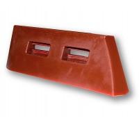 Полиуретановые лопатки и скребки из материала Hawiflex для смесителей бетона СБ-138