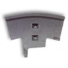 Смесительная лопатка центральная для смесителя бетона BHS
