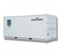Тепловые энергоустановки Turbomatic (Турбоматик) на дизельном топливе и природном газе